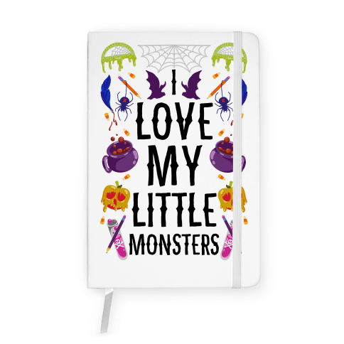 I Love My Little Monsters Notebook