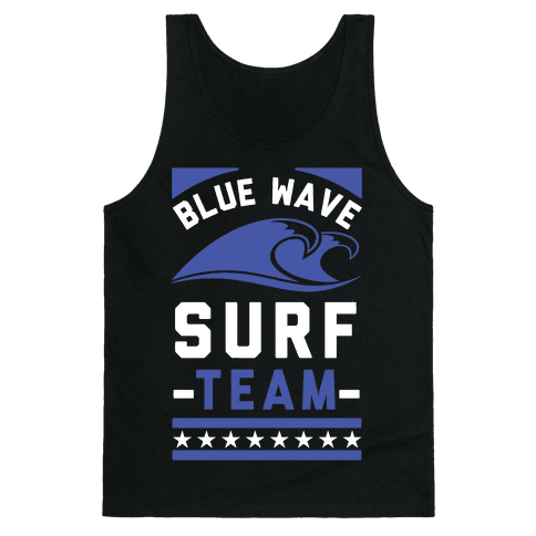 Blue Wave Surf Team Tank Top
