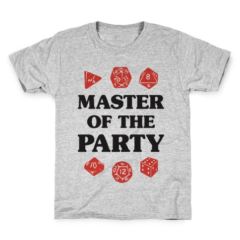Master of the Party Kids T-Shirt