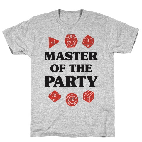 Master of the Party T-Shirt