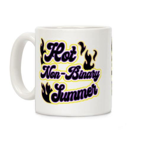 Hot Non-Binary Summer Coffee Mug