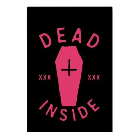 Dead Inside Garden Flag