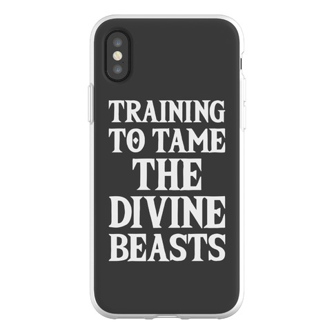 Training To Tame The Divine Beasts Phone Flexi-Case