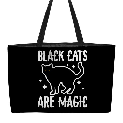 Black Cats Are Magic Weekender Tote