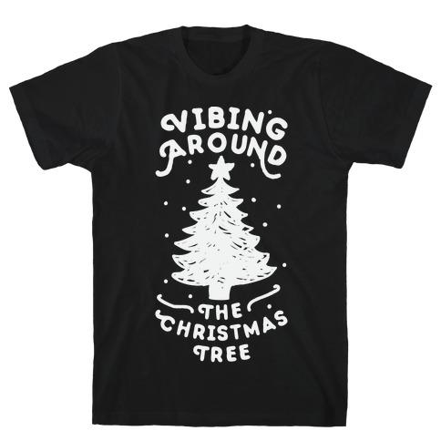 Vibing Around The Christmas Tree T-Shirt
