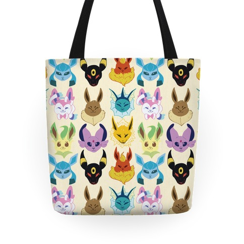 Eeveelution Pattern Tote