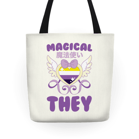 Magical They - Non-binary Pride Tote
