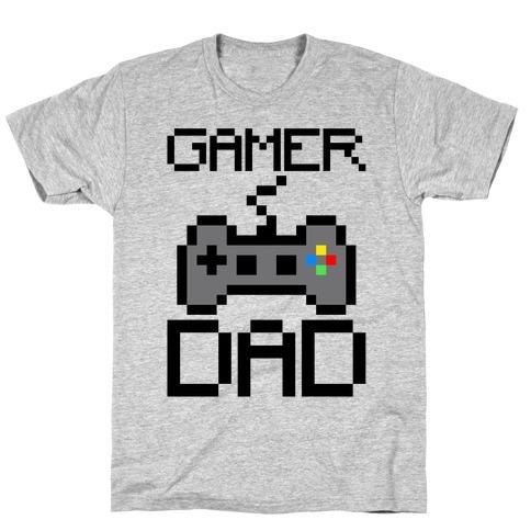 Gamer Dad Mens/Unisex T-Shirt