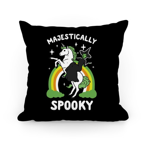 Majestically Spooky Pillow