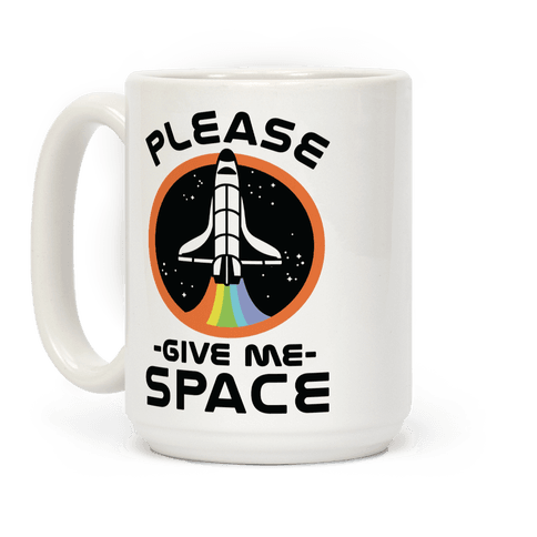 Please Give me space Coffee Mug
