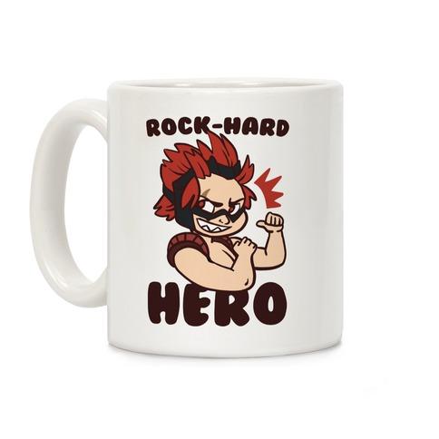 Rock-Hard Hero - Kirishima Coffee Mug