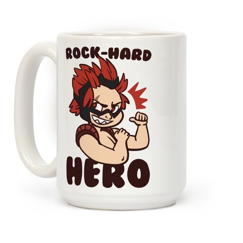 Rock-Hard Hero - Kirishima  Coffee Mug