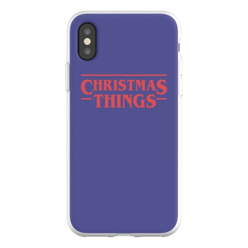 Christmas Things Phone Flexi-Case
