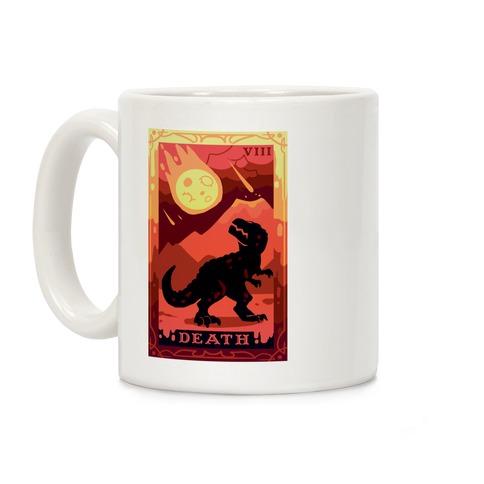 Death Dino Tarot Coffee Mug