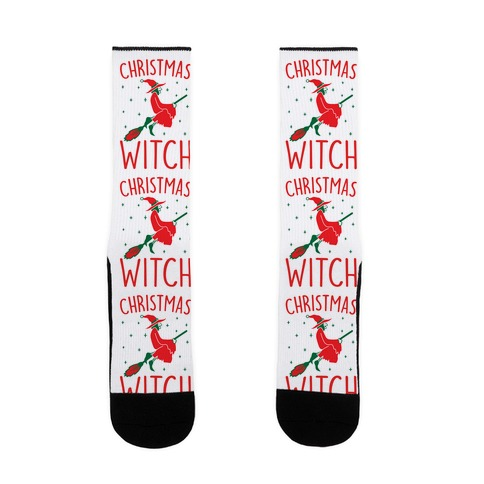 Christmas Witch Sock