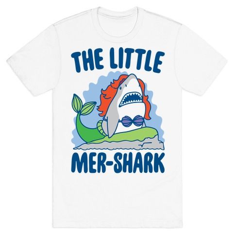 The Little Mer-Shark Parody T-Shirt