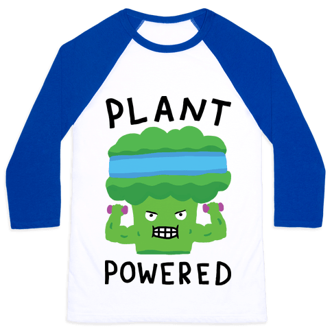 Plant Powered Baseball Tee