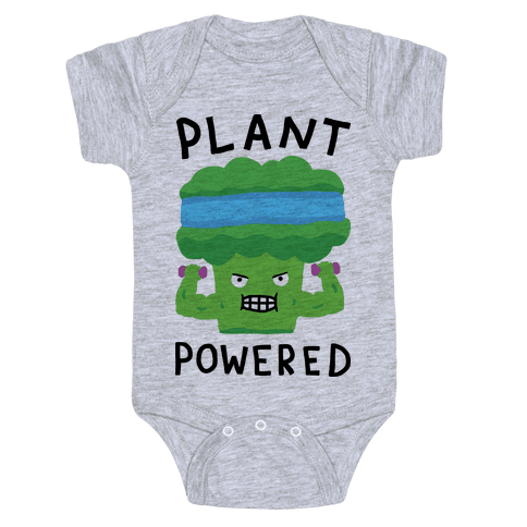 Plant Powered Baby Onesy