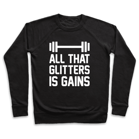 All That Glitters Is Gains Pullover