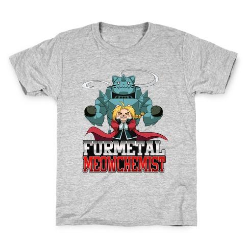 Furmetal Meowchemist Kids T-Shirt