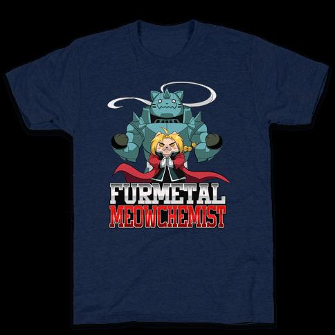 Furmetal Meowchemist Mens T-Shirt
