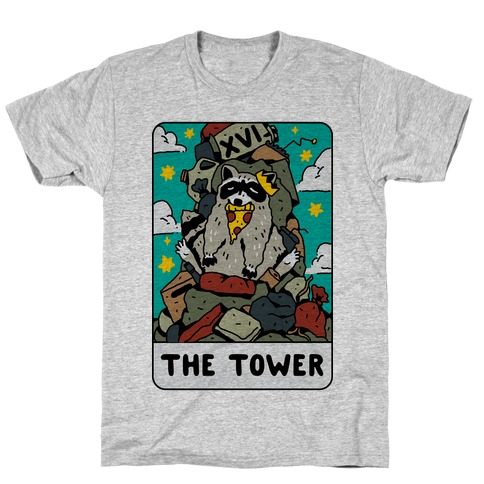 The Garbage Tower Tarot T-Shirt