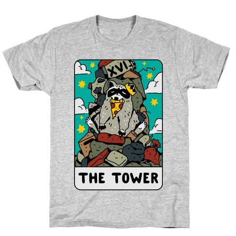 The Garbage Tower Tarot Mens/Unisex T-Shirt