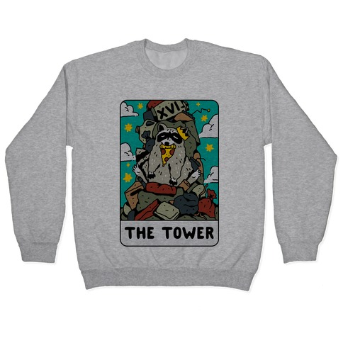 The Garbage Tower Tarot Pullover
