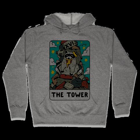 The Garbage Tower Tarot Hooded Sweatshirt