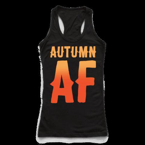 Autumn Af White Print