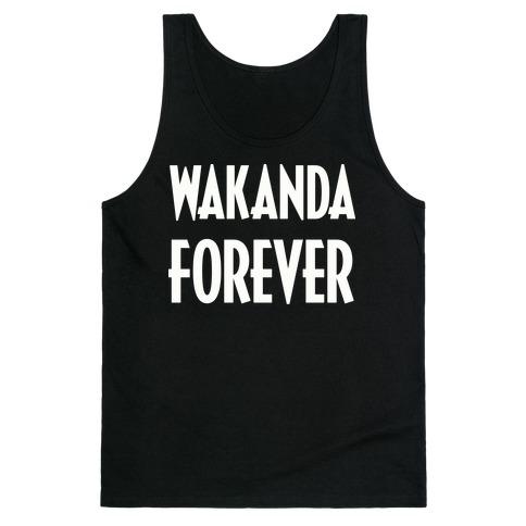 Wakanda Forever Tank Top