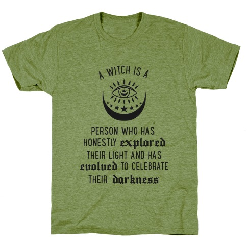 Meaning of a Witch (black)  T-Shirt