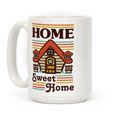 Home Sweet Home Animal Crossing Coffee Mug