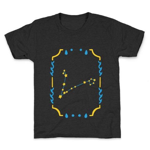Pisces Star Card Kids T-Shirt