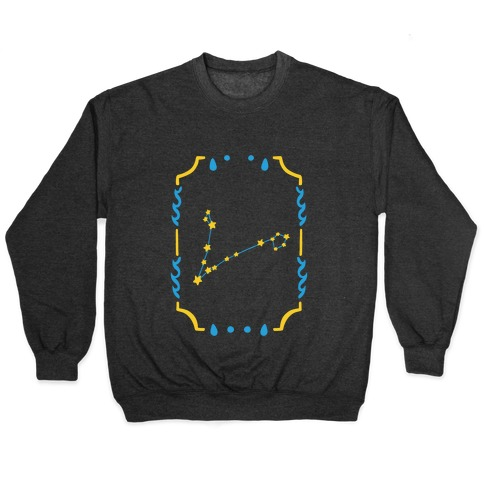 Pisces Star Card Pullover