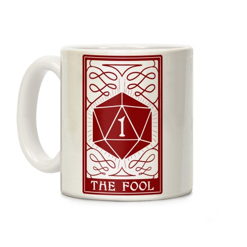 The Fool Nat1 Tarot Card Coffee Mug