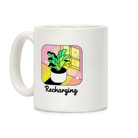 Recharging Plant Coffee Mug