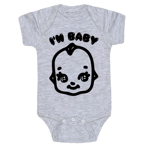 I'm Baby Kewpie Parody Baby One-Piece
