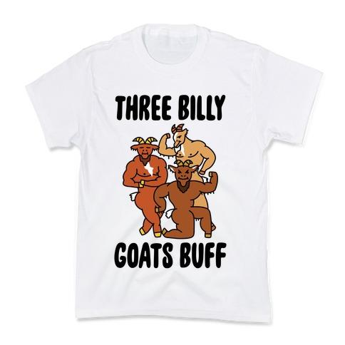 Three Billy Goats Buff Kids T-Shirt