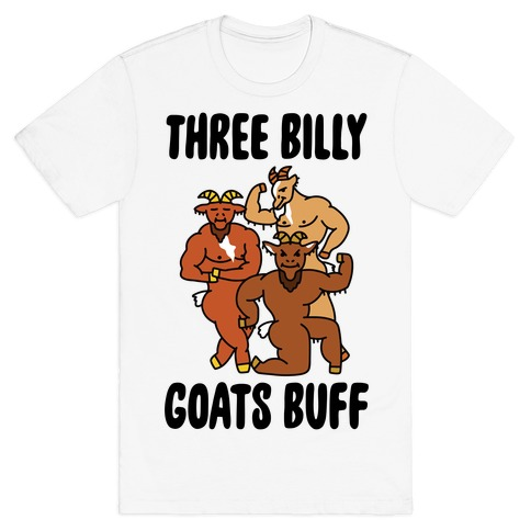 Three Billy Goats Buff T-Shirt