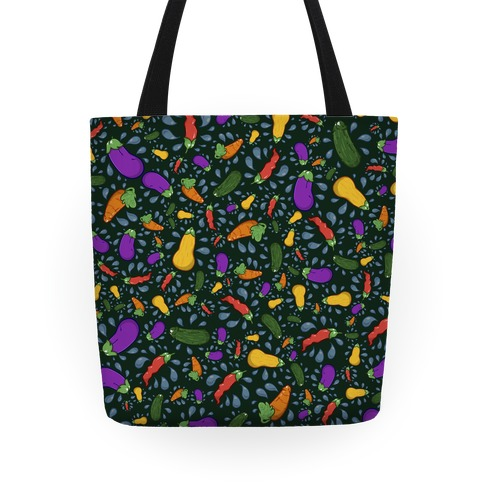Penis Produce Pattern Tote