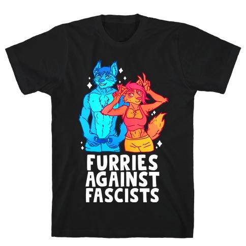 Furries Against Fascists T-Shirt