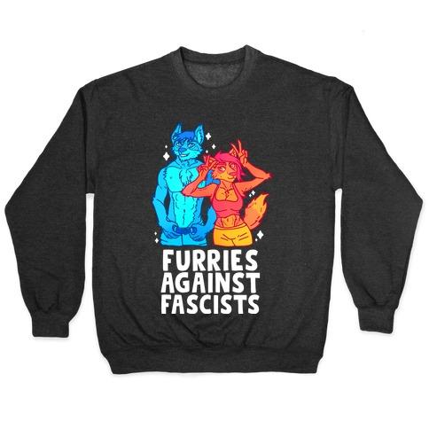 Furries Against Fascists Pullover