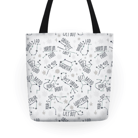 Asstrology Constellations Tote