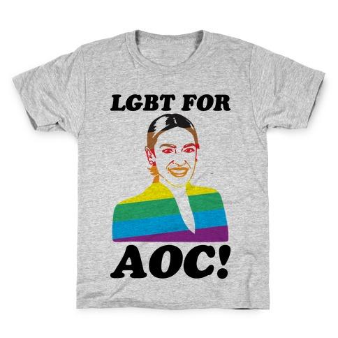 LGBT For AOC Kids T-Shirt