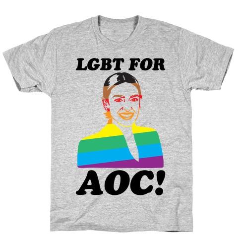 LGBT For AOC Mens/Unisex T-Shirt