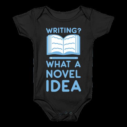 Writing? What a Novel Idea! Baby Onesy