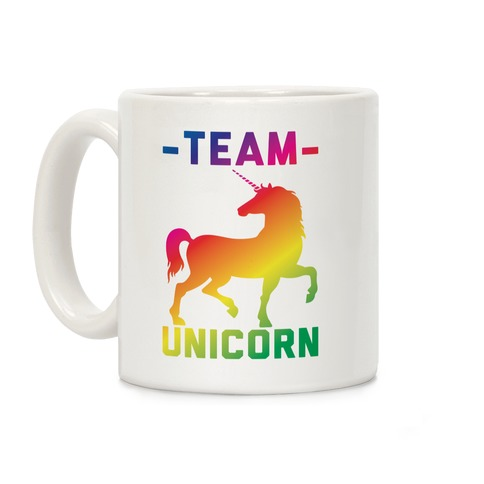 Team Unicorn Coffee Mug