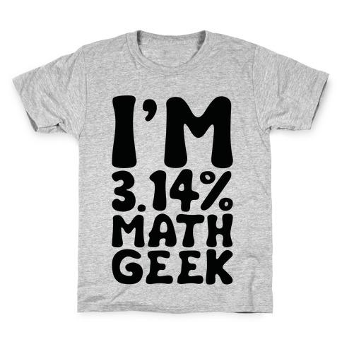 I'm 3.14% Math Geek Kids T-Shirt