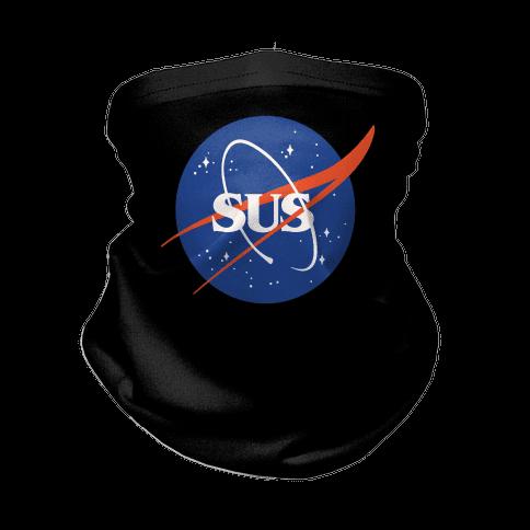 Sus Nasa Logo Parody Neck Gaiter